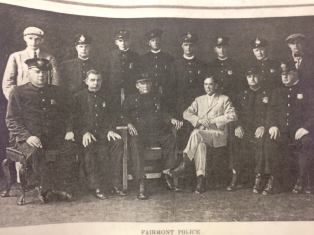 Vintage Photo of the Fairmont Police Department