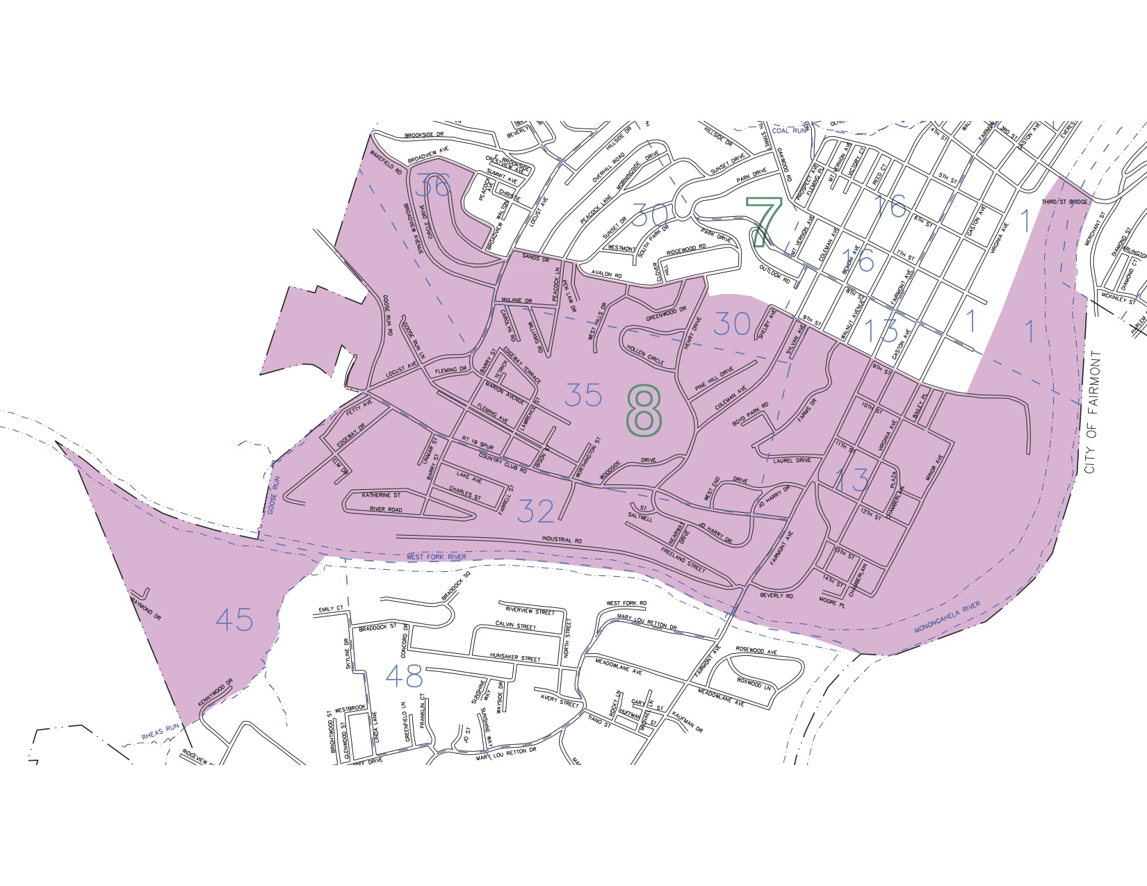 City Council District 8 Map
